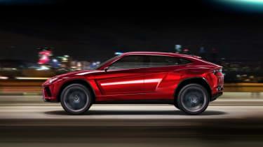 Lamborghini Urus SUV side profile