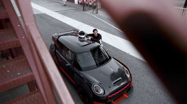 Mini John Cooper Works GP Concept - top