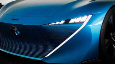 Peugeot Instinct Concept - front grille