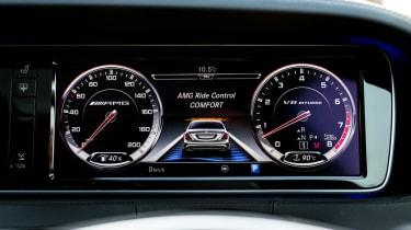 Mercedes-Benz S-class – instrument cluster