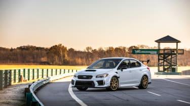 Subaru WRX STI S209 - front quarter