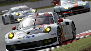 2013 Porsche 911 RSR race debut Six hours Silverstone