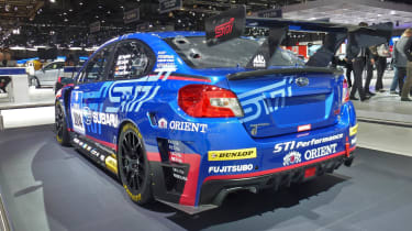 Subaru WRX STI NBR Challenge 2014: rear