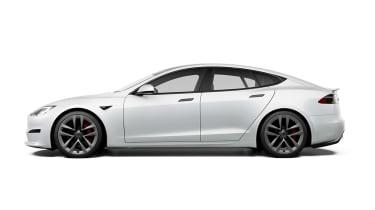 Tesla Model S Plaid side