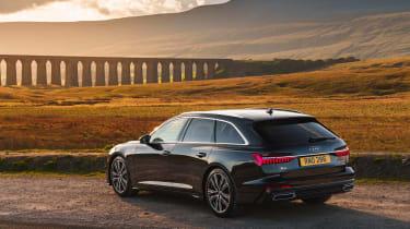 Audi A6 Estate S-Line - rear quarter