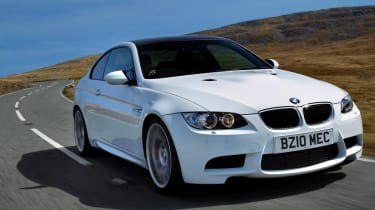 BMW M3 Competition front right track