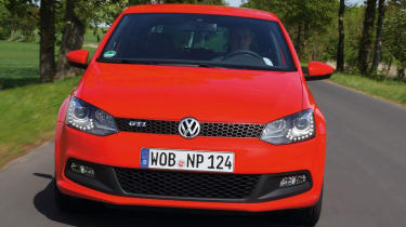 VW Polo GTI nose tracking