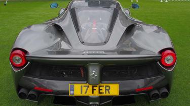 City Concours - Ferrari LaFerrari rear