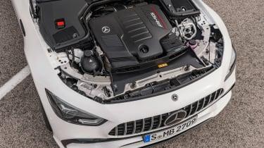Mercedes GT 53 4-door - engine