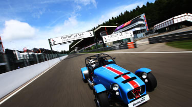 Caterham Seven Donington Edition Review The Best Caterham You Can Buy Evo