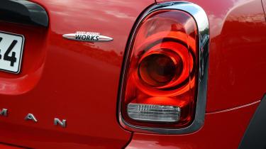 2017 MINI Countryman JCW - taillight detail