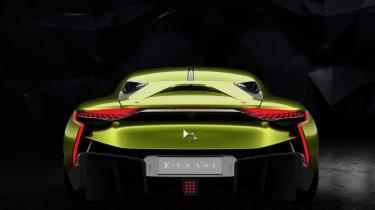 DS E-Tense - rear