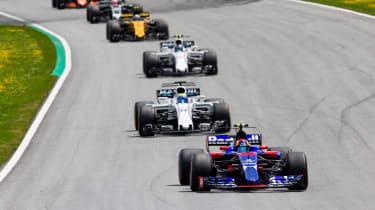 Formula One Round 9 AUT - Line