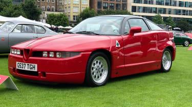 Alfa Romeo SZ - front quarter