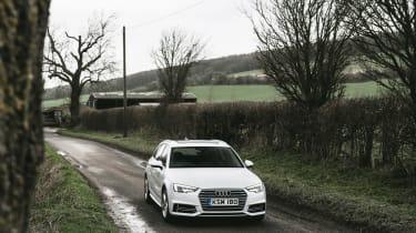 Audi A4 Avant - nose