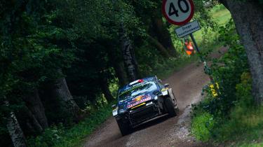 WRC round 9 - Rally Poland ford