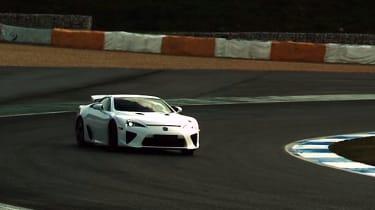 Video: Alex Wurz drives the LFA