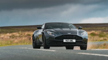 Roma GT test –DB11 action