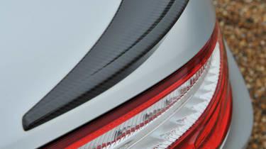 2013 Mercedes SL63 AMG carbonfibre boot spoiler
