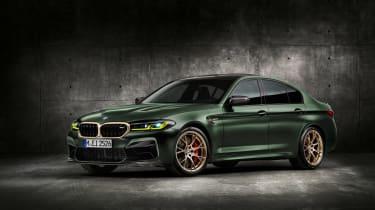BMW M5 CS - studio front quarter