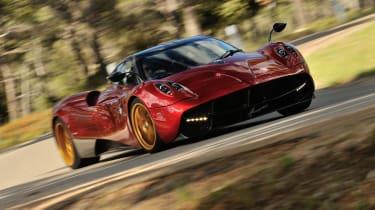 Best performance cars: Pagani Huayra