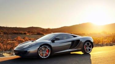 Hennessey McLaren 12C HPE700 front sunset