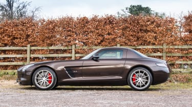 Mercedes-Benz SLS AMG – side