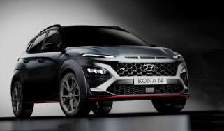 Hyundai Kona N teaser again