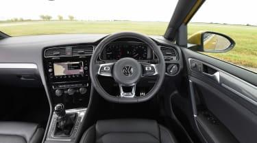 VW Golf - interior