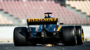 Renault F1 2017 rear