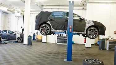Hyundai i30 N prototype - on ramp