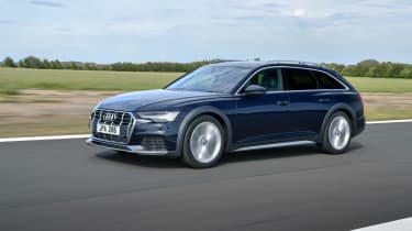 Audi A6 Allroad 2021 – front tracking