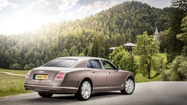 Bentley Mulsanne - rear quarter