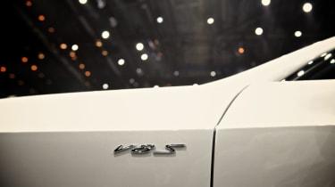Bentley Continental GT V8 S badge