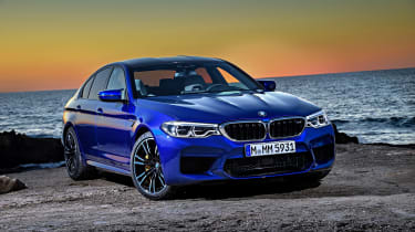 BMW M5 review - front static