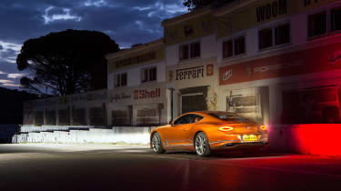 Bentley Continental GT - rear three quarters