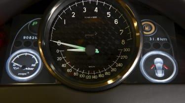 Artega GT dashboard