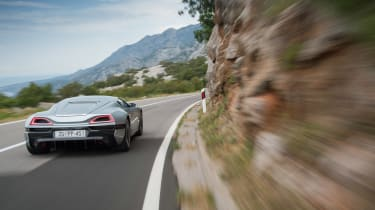 Rimac Concept One - driving