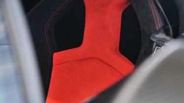 Lamborghini Gallardo Squadra Corse seat