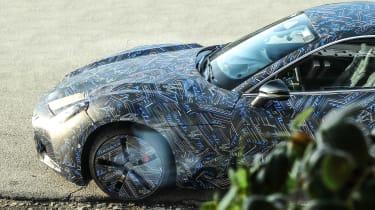 2021 Maserati GranTurismo spy – nose