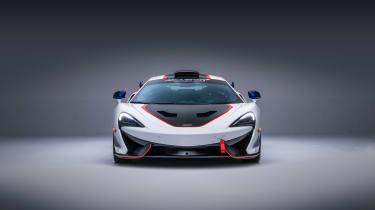 McLaren MSO X – front