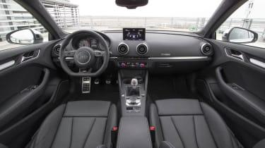 2013 Audi S3 interior dashboard
