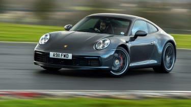 Porsche 911 and BMW M2 CS manual v auto