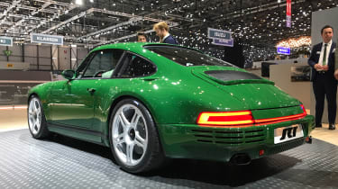Ruf SCR live - rear