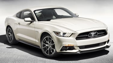Ford Mustang 50th Anniversary limited edition launched