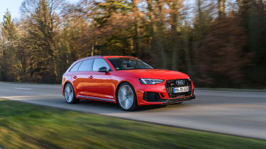 Audi RS4 – front quarter
