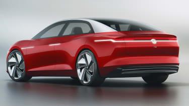 Volkswagen I.D. Vizzion – rear quarter