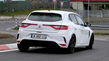 Renault Megane RS Trophy-R spied - rear quarter
