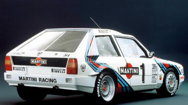 Lancia Delta S$ – rear