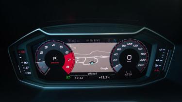 Audi A1 First Edition - blue dials